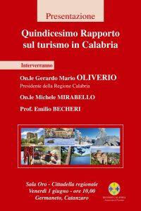 Quindicesimo Rapporto sul Turismo in Calabria