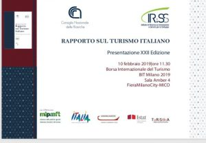 Presentazione XXII Rapporto sul Turismo italiano